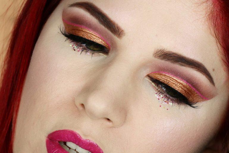 essence Bold Makeup Look